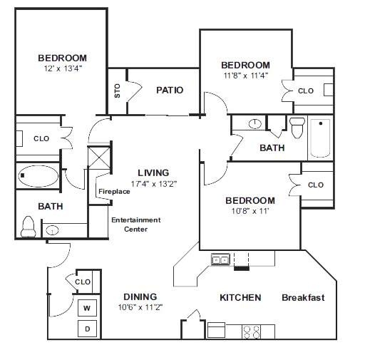 1 Bedroom Blowout 200 Off Frisco Tx Apartment Specials